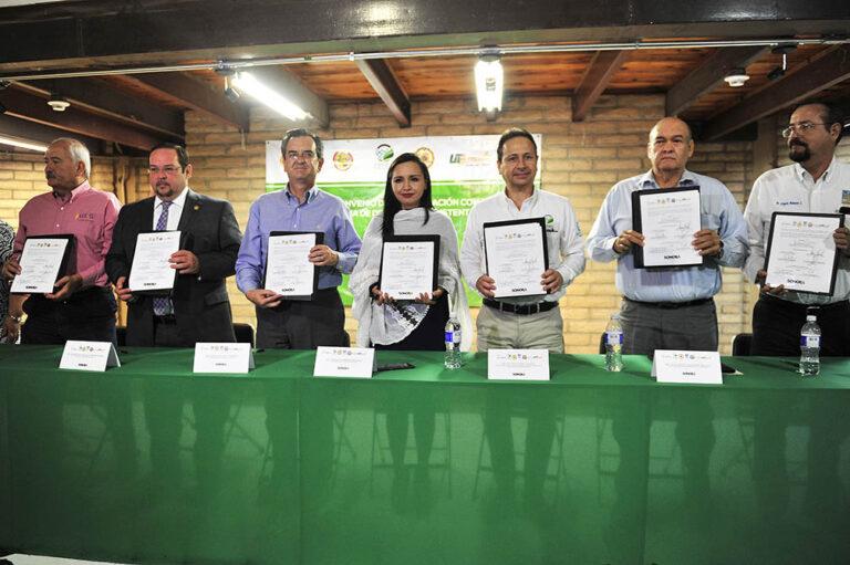 Promueven Cedes y Universidades programas para mejorar Medio Ambiente.
