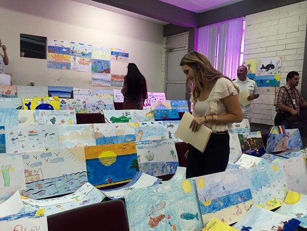 """XXXIX Concurso Nacional de Pintura Infantil """"El Niño y La Mar"""""""