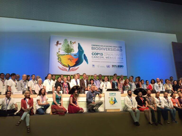 SE PRESENTÓ ESTRATEGIA DE BIODIVERSIDAD, SONORA PRESENTE EN LA CUMBRE GLOBAL, COP 13