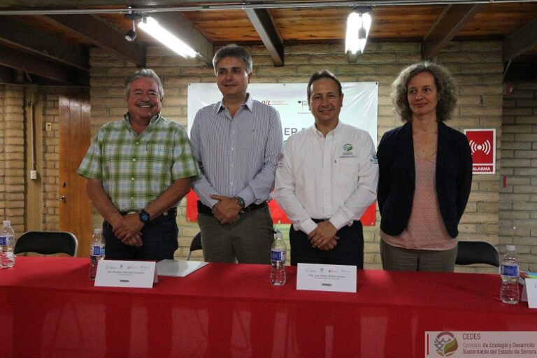 Primer Taller Estatal de Cambio Climático, organizan: CEDES y Agencia de Cooperación Alemana, GIZ.
