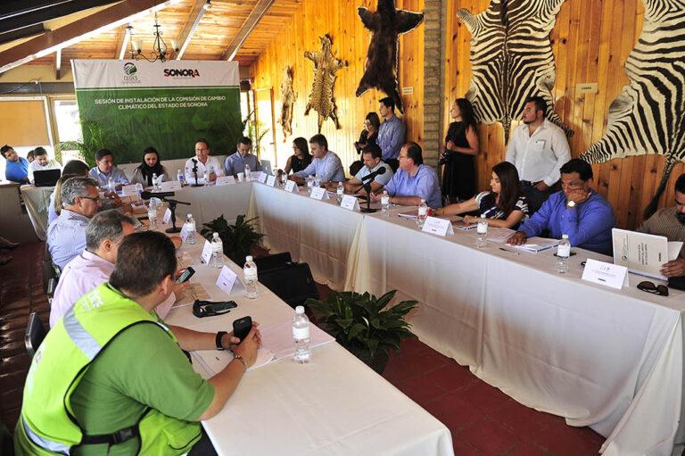 Instalan Comisión Intersecretarial de Cambio Climático de Sonora